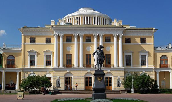 Экскурсия в Павловск на автомобиле