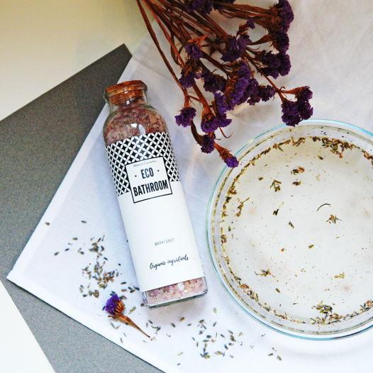 Соль для ванны расслабляющая с лавандой (RELAX LAVENDER BATH SALT)