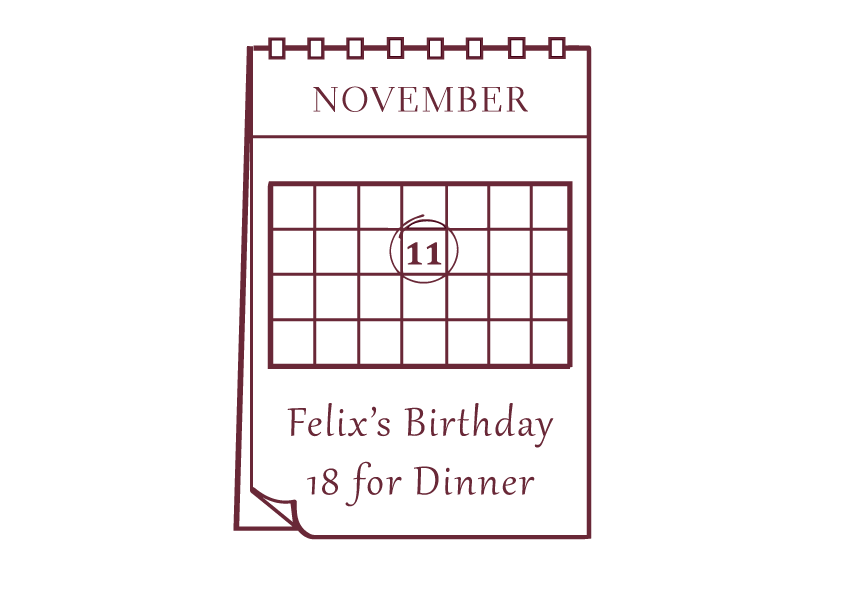 Pick your party date on our calendar and we schedule delivery and collection of your rented tablescape to suit you.