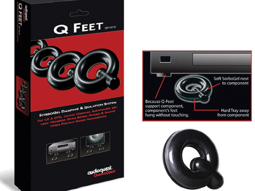 Audioquest Sorbo Gel Q-Feet *BRAND NEW NEVER OPENED*