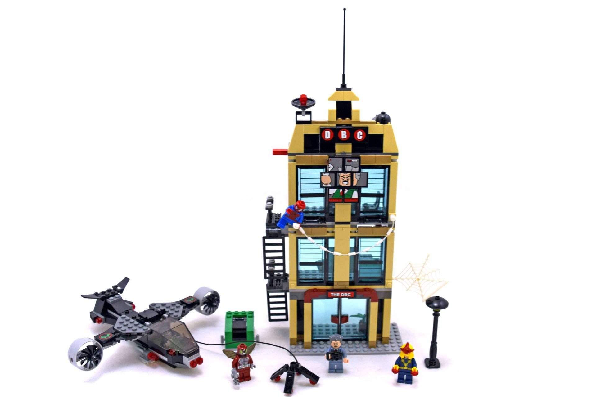 lego spider man daily bugle showdown