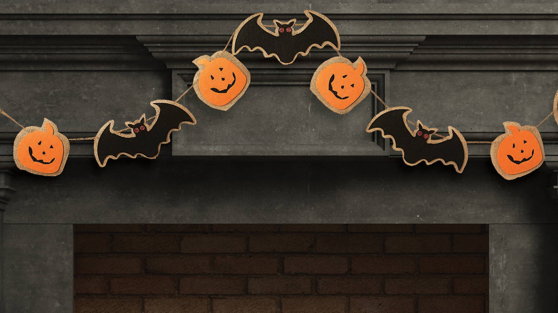 wholesale halloween garland