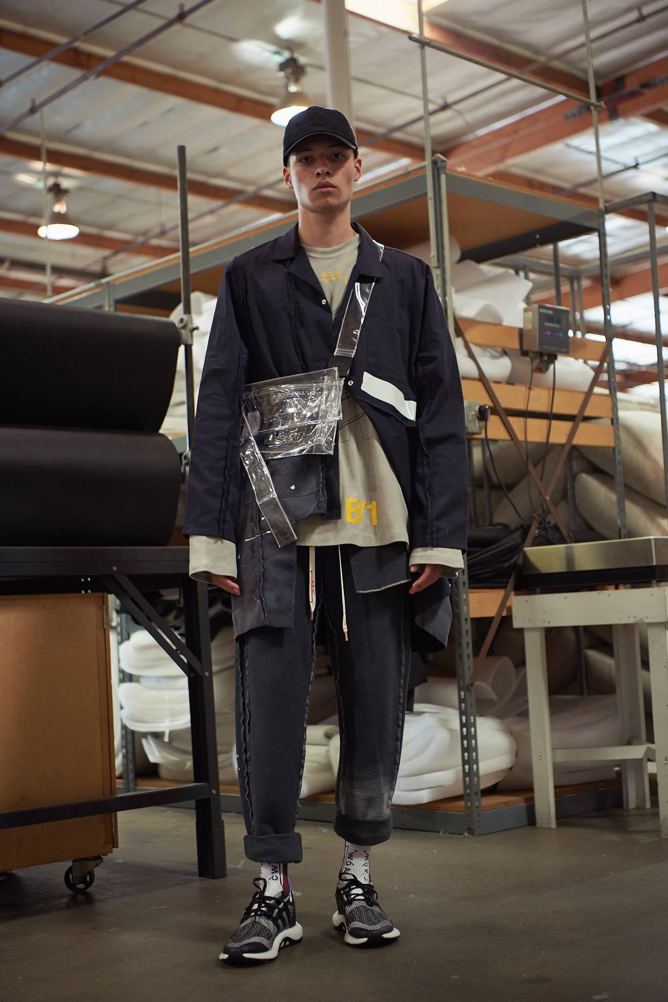 A Cold Wall men's worker jacket, tote bag- HLorenzo mens