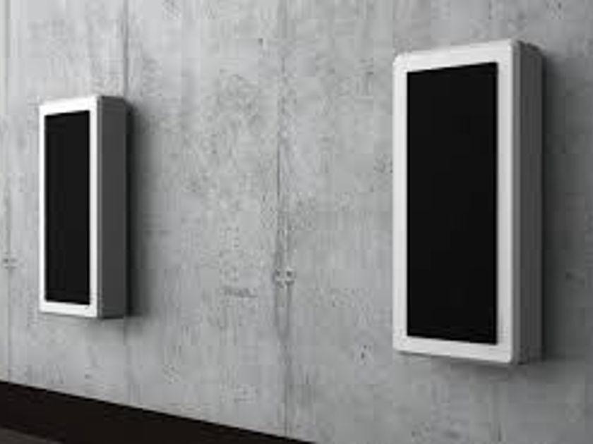 DLS Svenska AB Flatbox M-One White On-wall speaker pair (Mint)