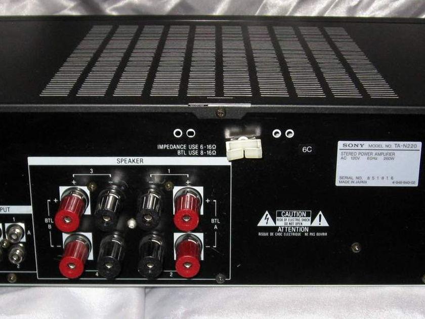 Sony TA-N220 2/3/4 channel bridgeable power amplifier