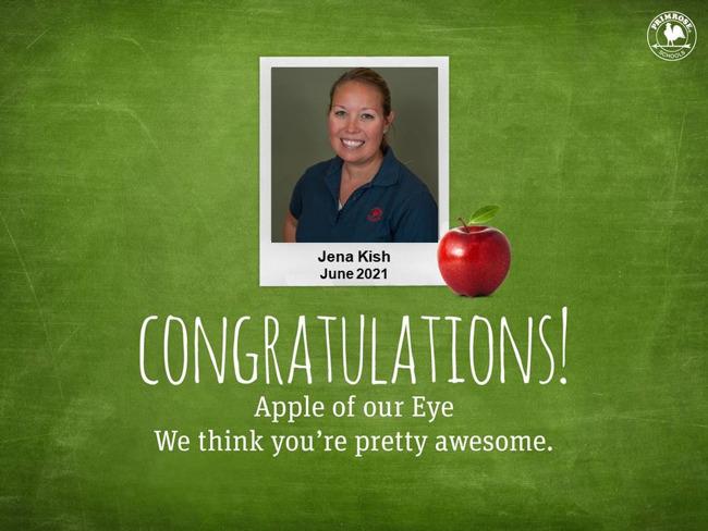 jena kish june apple of our eye