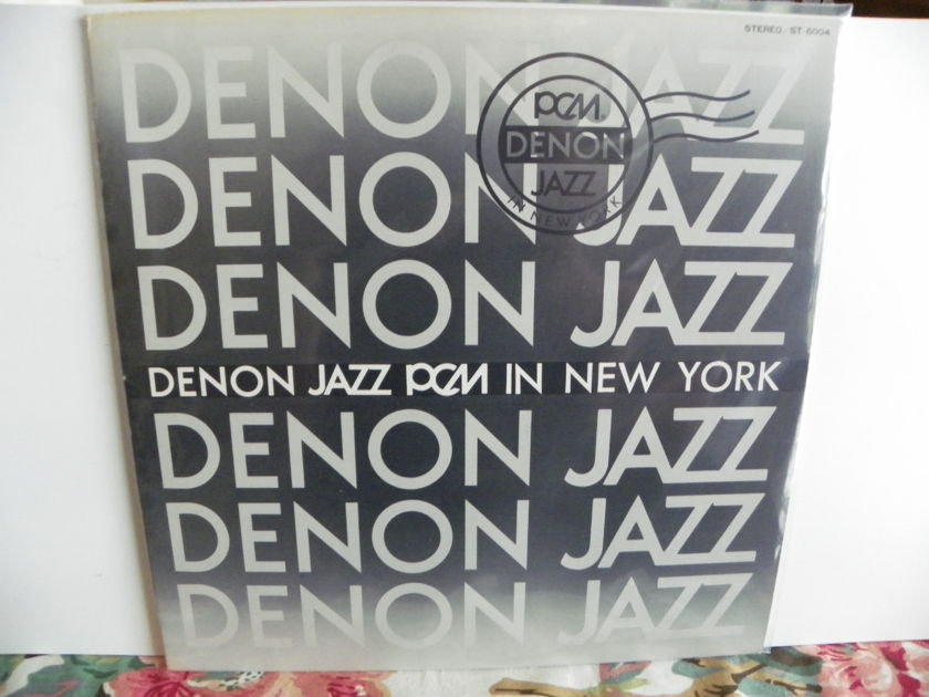 DENON JAZZ - JAZZ PCM IN NEW YORK IMPORT