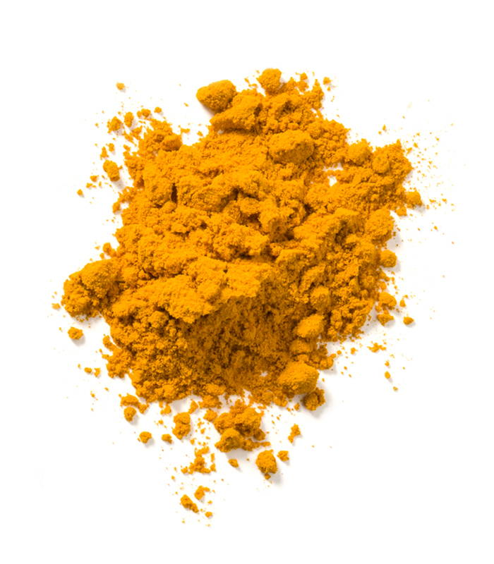 GOLDEN TURMERIC. Pan tone 718 C