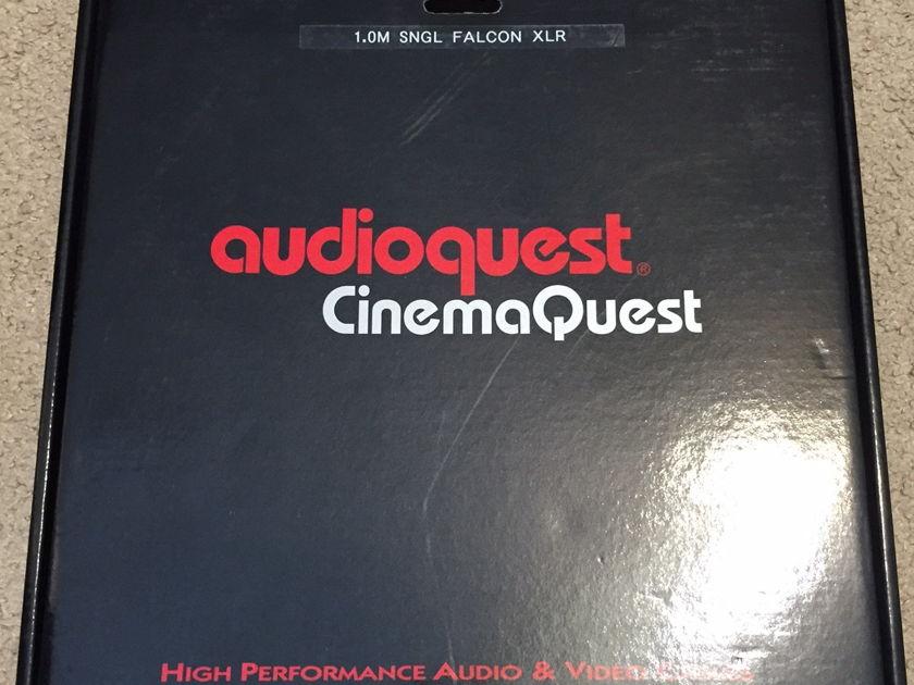 AudioQuest Falcon AES/EBU 110 Ohm XLR Digital Cable. 1m. NEW!
