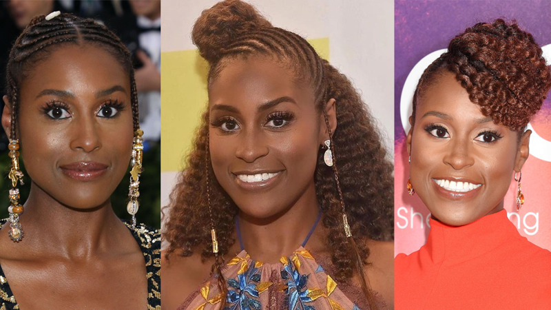 issa rae best natural styles hair
