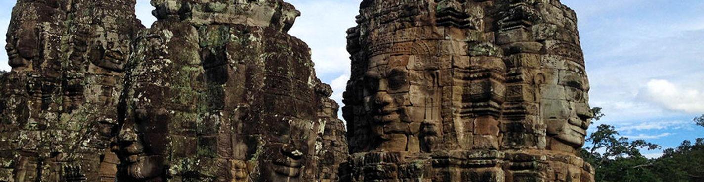 Ангкор — город, затерянный в джунглях