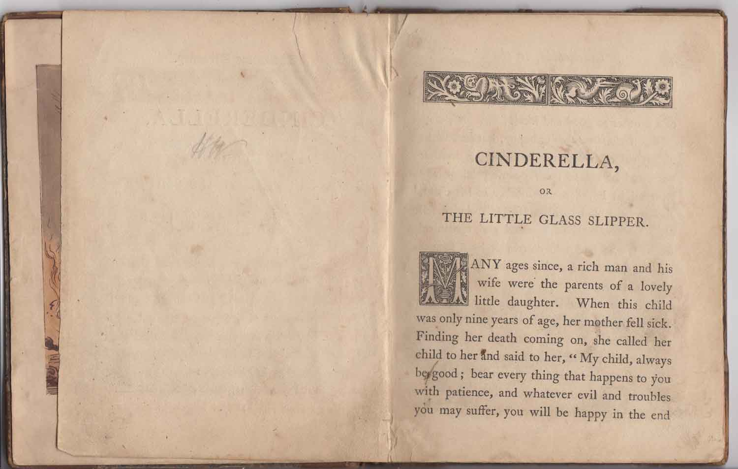 Cinderella's book (from the collection book) 1845 yen cover
