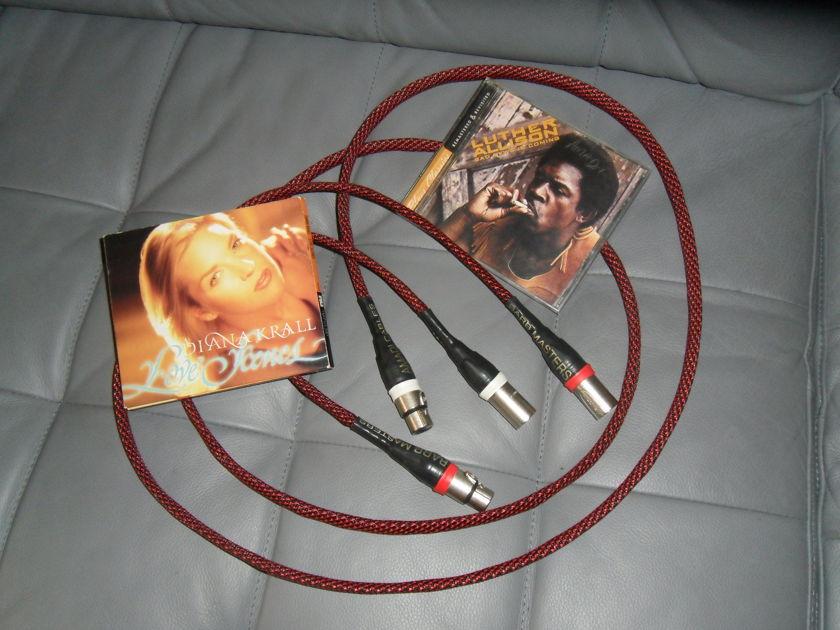 AMADI CABLES. Barb Master  1.5m   XLR.