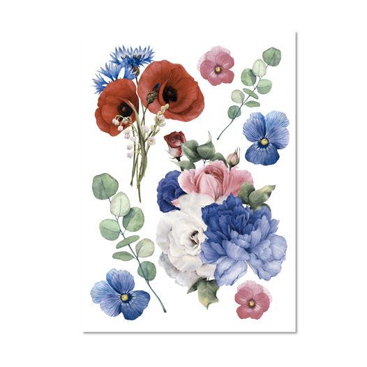 Набор переводных тату Цветы