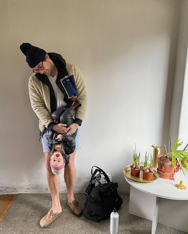 Jonathan Legge Holding Daughter
