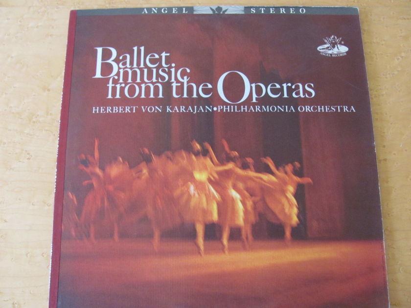 Ballet Music from the Operas, Herbert Von Karajan,  - Philharmonia Orchestra, NM