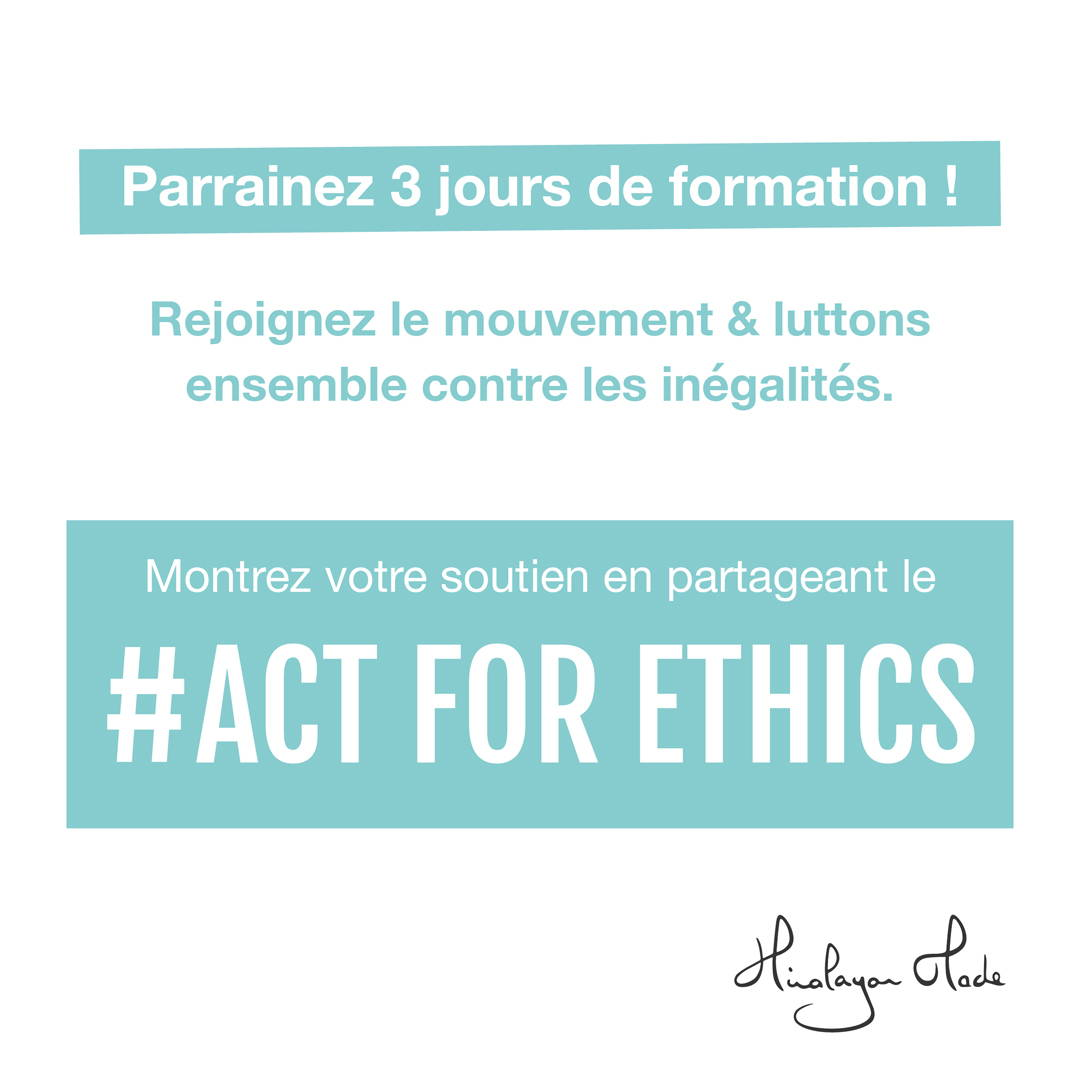 act for ethics, éducation