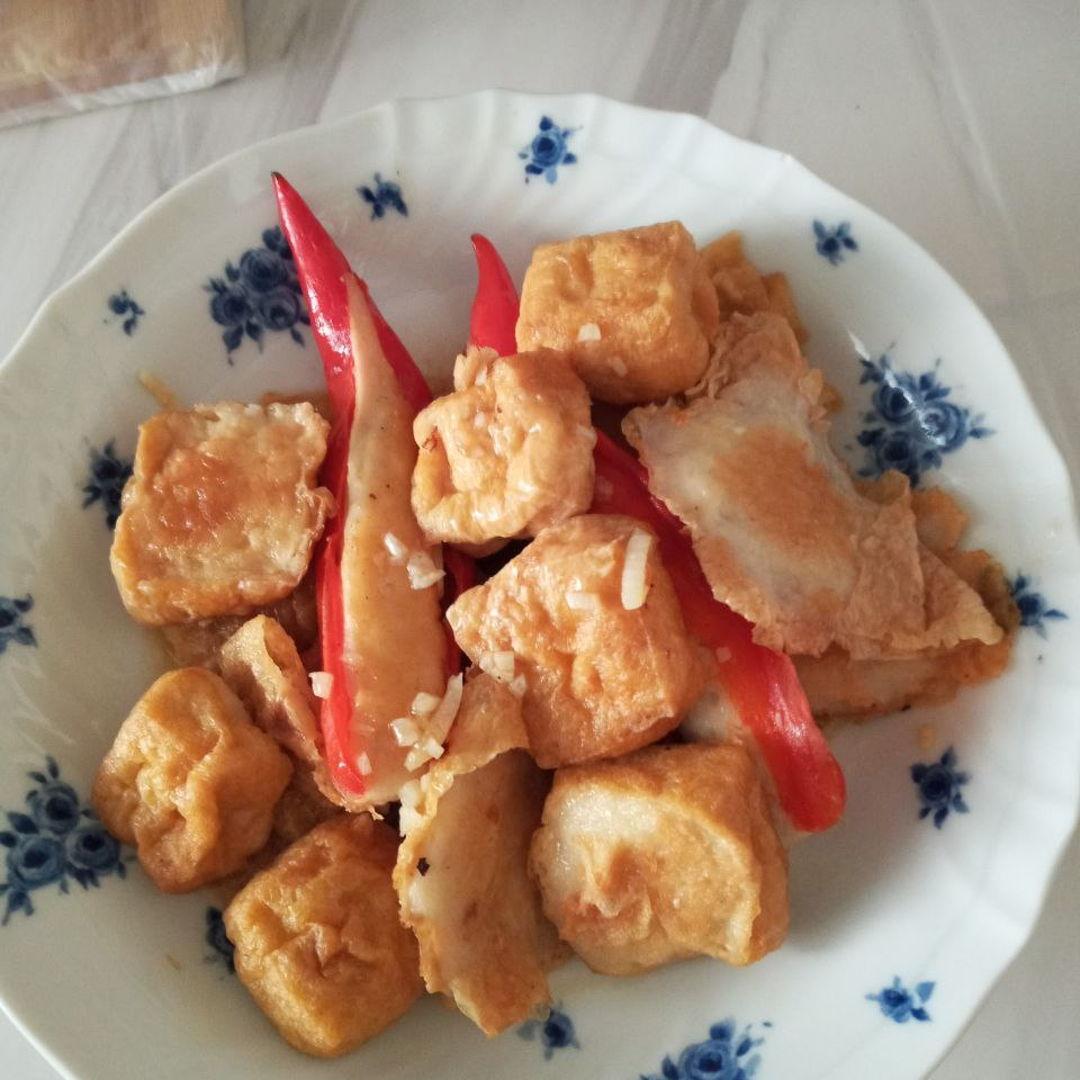 Homemade yong tau foo 😍😘