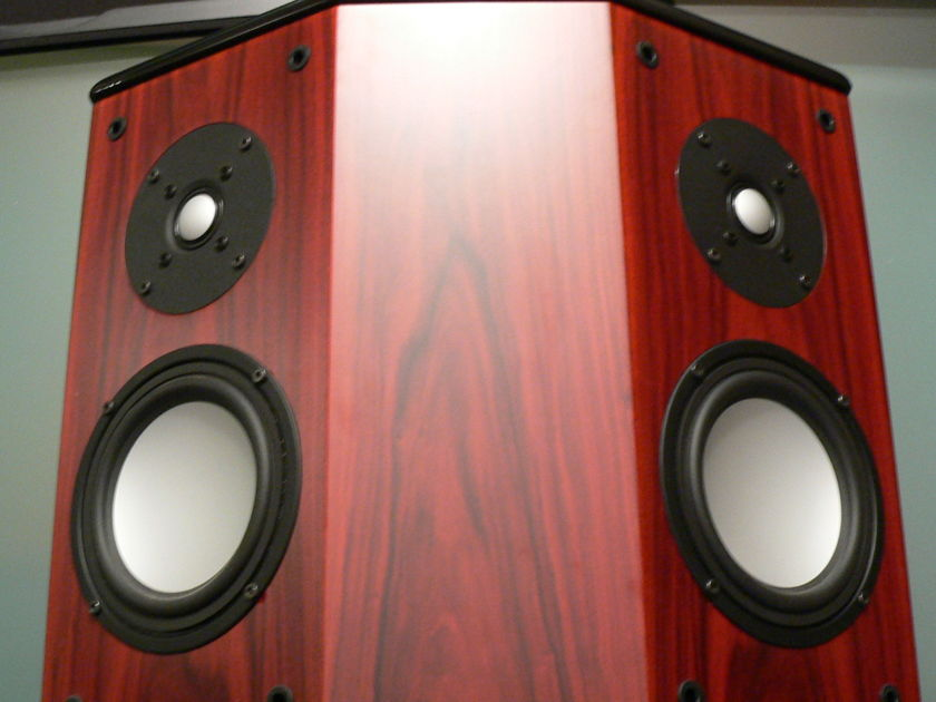 AV 123 RSS 300 surrounds & RS 250 MKII Gorgeous Rosewood finish