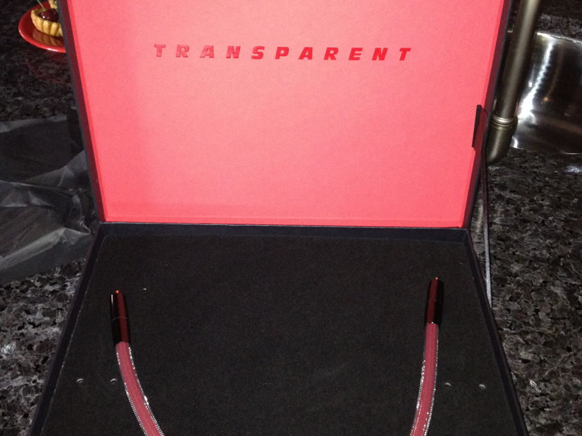 Transparent Reference RDL 1/2 meter RCA  Mint cable original box