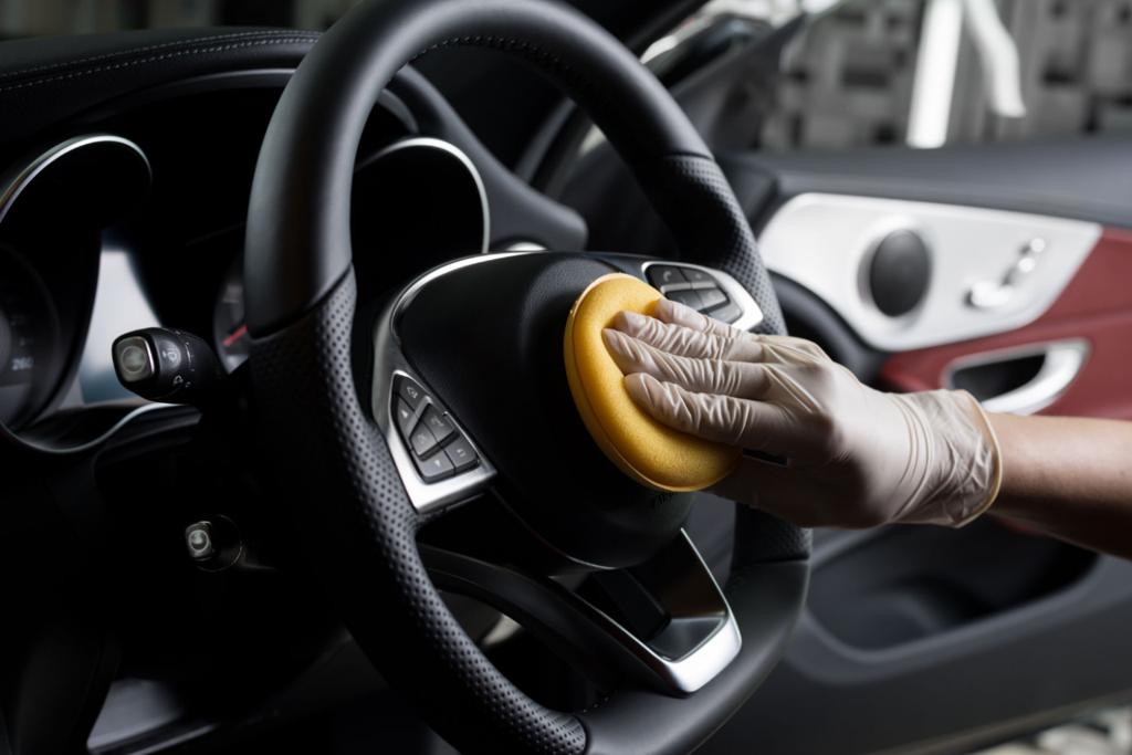 Higienizar o carro