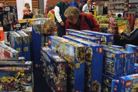 LEGO Sales spot at Pii Poo event