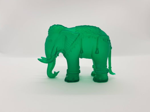 Статуэтка индийский слон из фотополимера