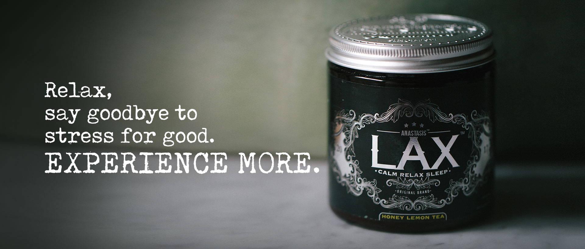 LAX Biohacking Relax nerve tonic nootropics