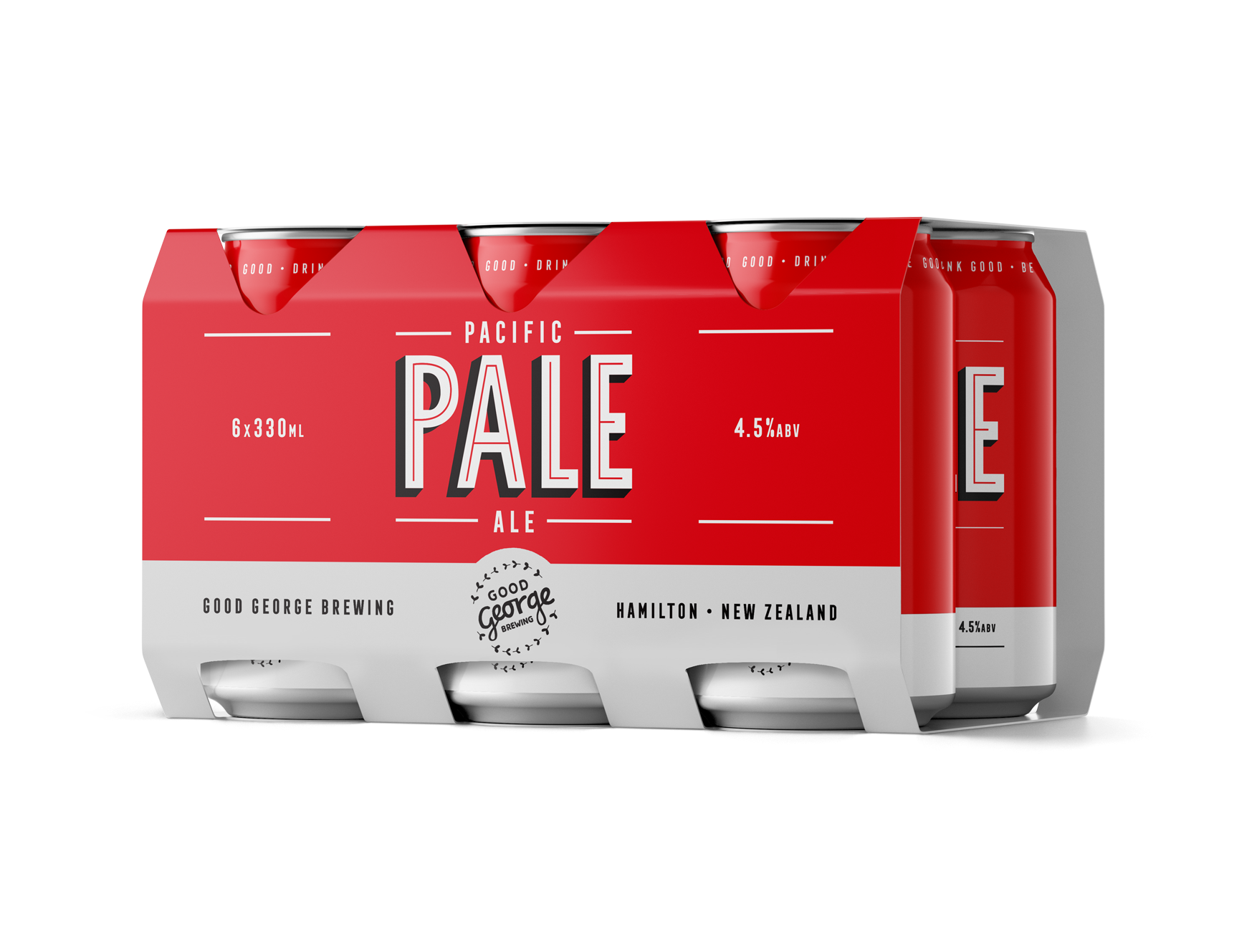 Good George Pacific Pale Ale Six Pack Cans