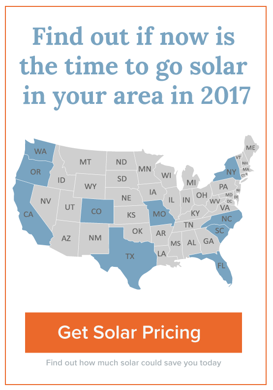 Get solar for your home while the prices are best