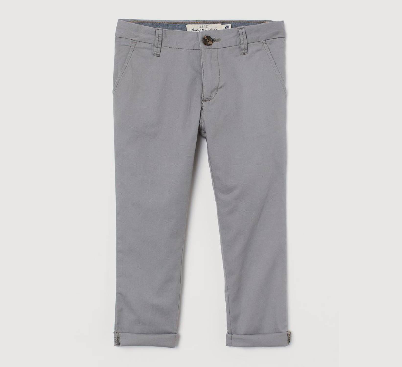 Ring Bearer Light Grey Pants