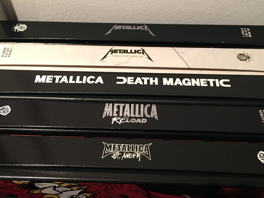 Metallica - 45 Rpm Vinyl 5 Albums Collection (Mint!)