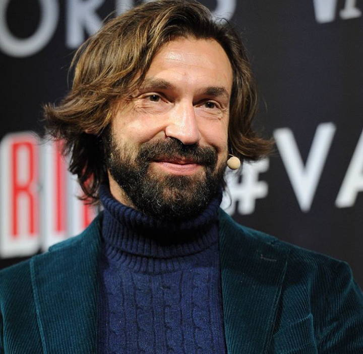 Andrea Pirlo With A Beard