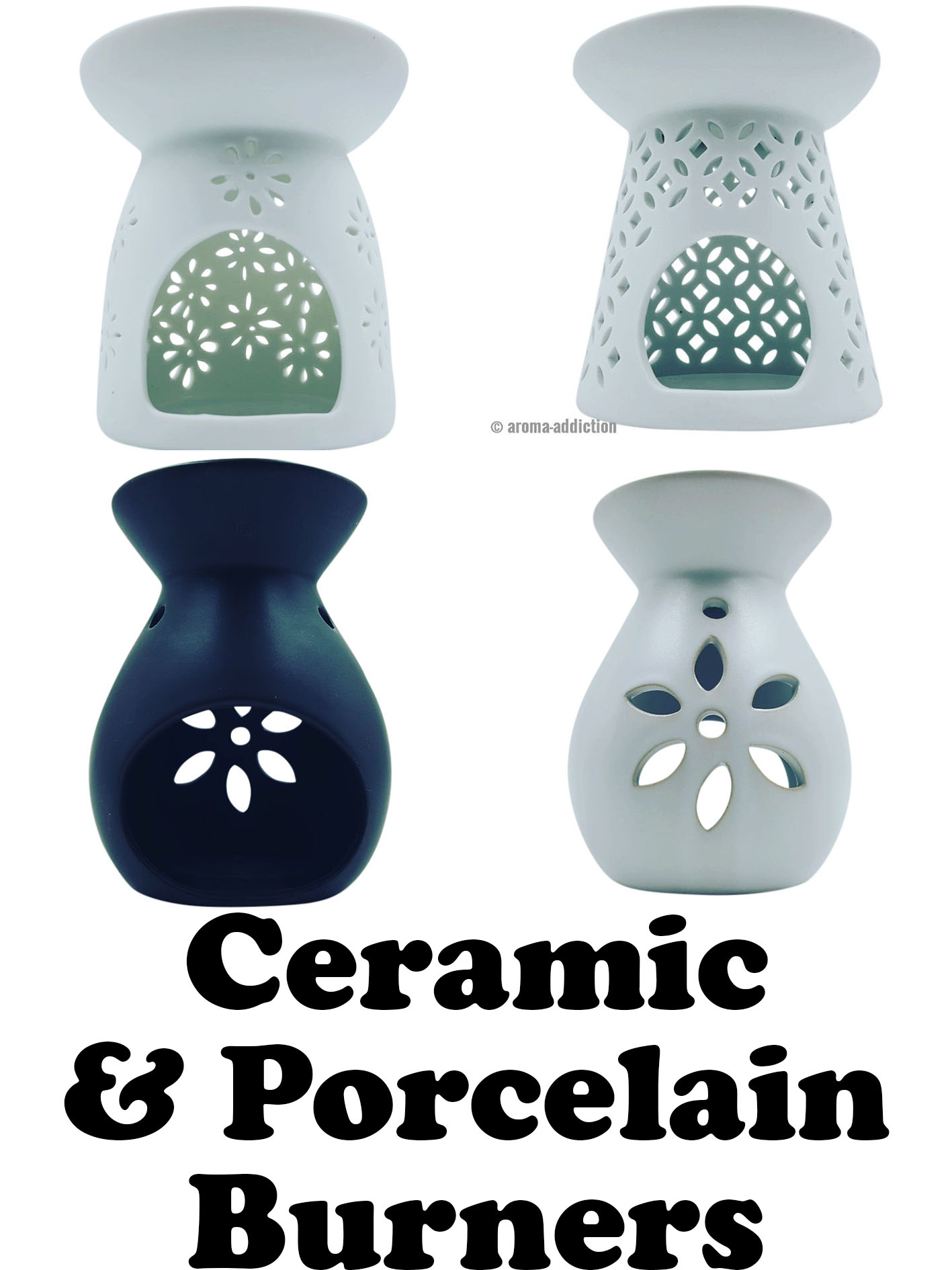 ceramic and porcelain melt burners