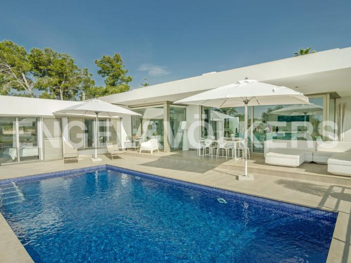 Beautiful Modern High Quality Luxury Villa in San Jaime