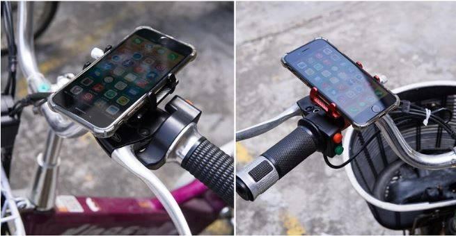 Bike phone holder, Phone mount for bike