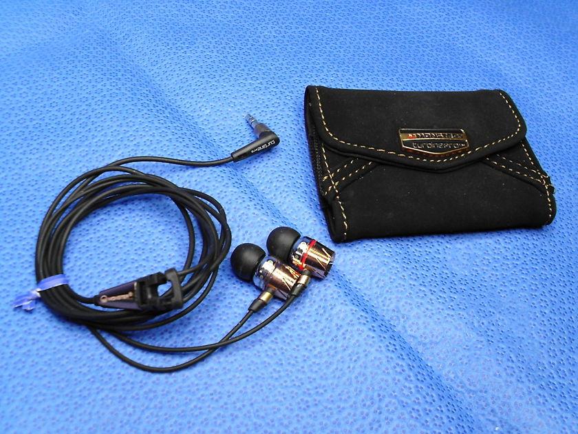 Monster Cable Headphones Earphones Turbine Copper PRO Earphones Earbuds