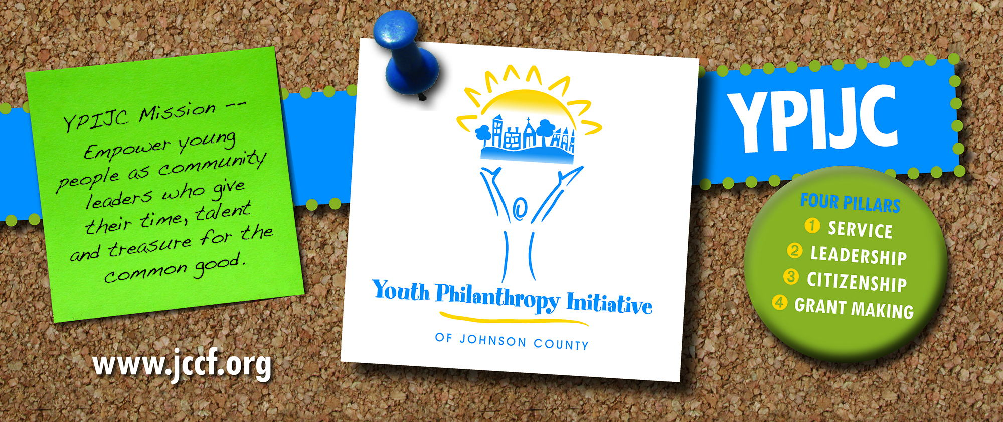 Youth Philanthropy Initiative of Johnson County mission