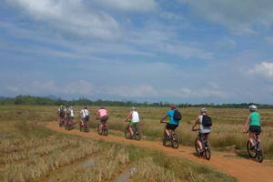 Biking on the Beautiful Island Koh Yao Noi