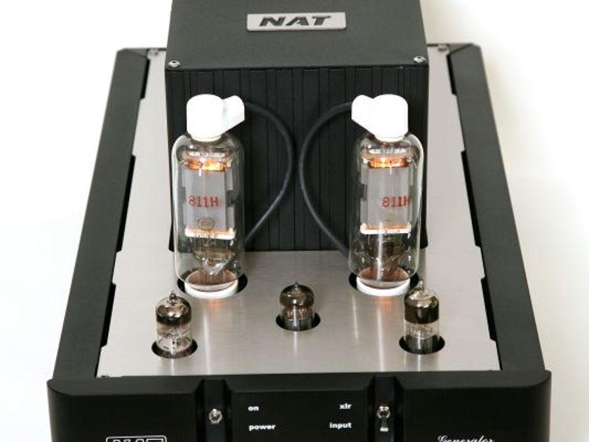Nat Audio Generator Push pull mono block tube amplifier (170 w)