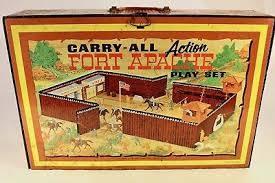 marx fort apache action set