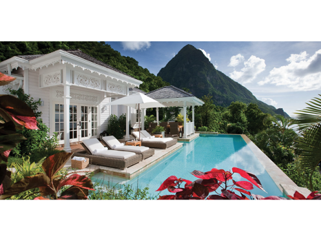 5-Night Stay at Sugar Beach, A Viceroy Resort in St Lucia Plus Airfare