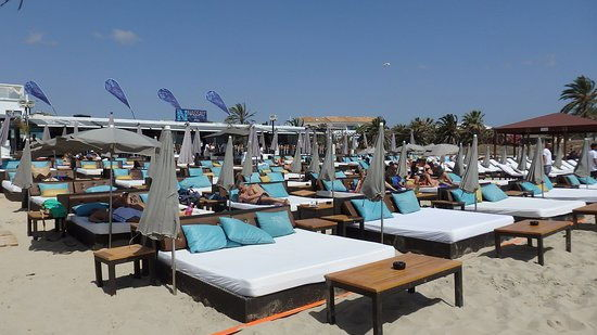 Nassau Ibiza Beach club, playa d'en bossa guide