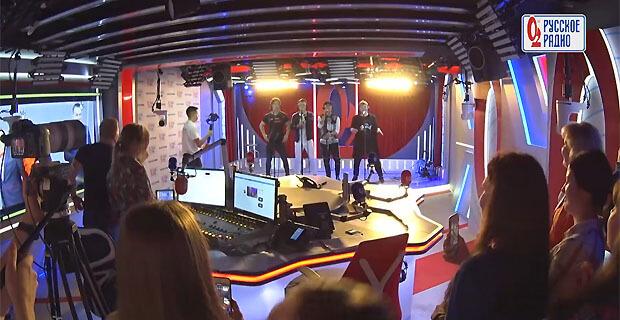 Группа «На-На» выступила с живым концертом в рамках «Золотого микрофона» на «Русском Радио» - Новости радио OnAir.ru
