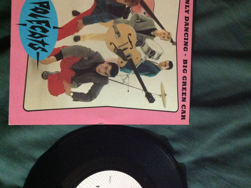 The Polecats - John I'm Only Dancing Written By David Bowie UK 45 With Sleeve