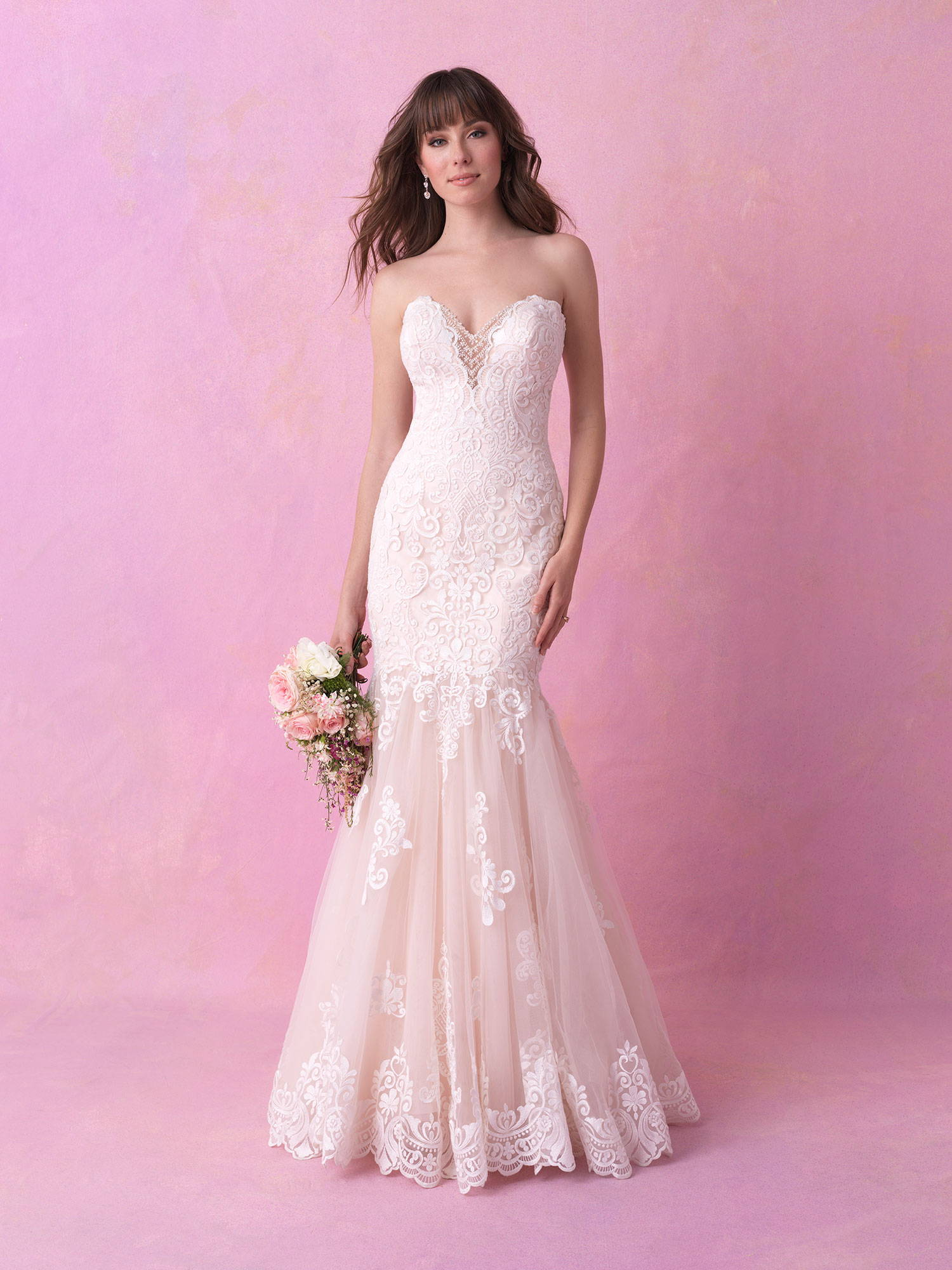 ALLURE  WEDDING DRESS 3161