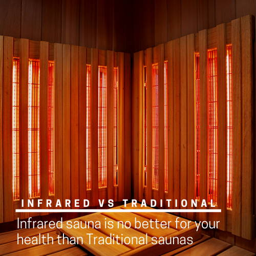 Infrared vs. Traditional saunas