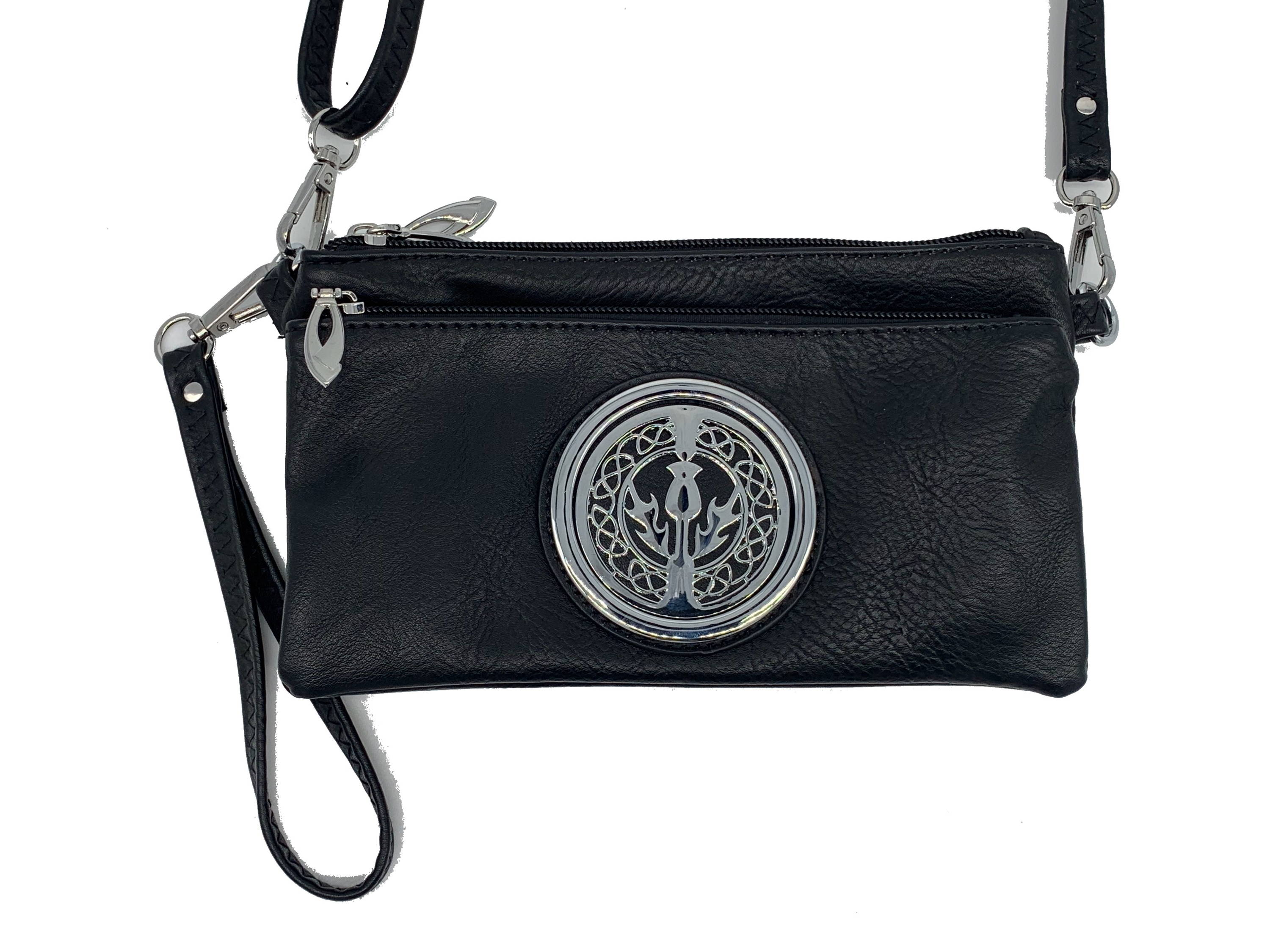 The Celtic Bag Co. Tri Zip Cell Phone Bag