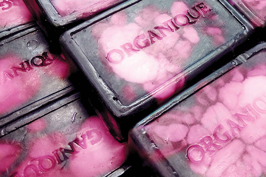 Glycerin Handmade Soap Black Orchid from Organique natural cosmetics