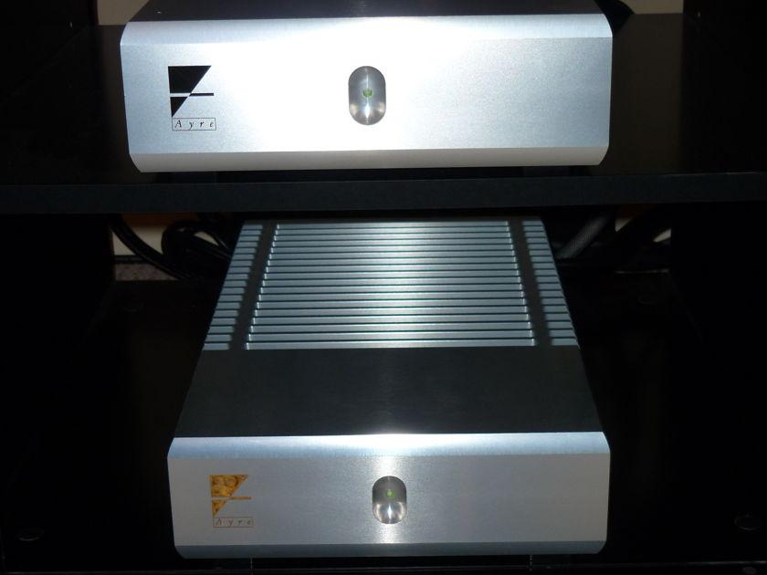 AYRE MX-R Monobloc Amps (Silver)